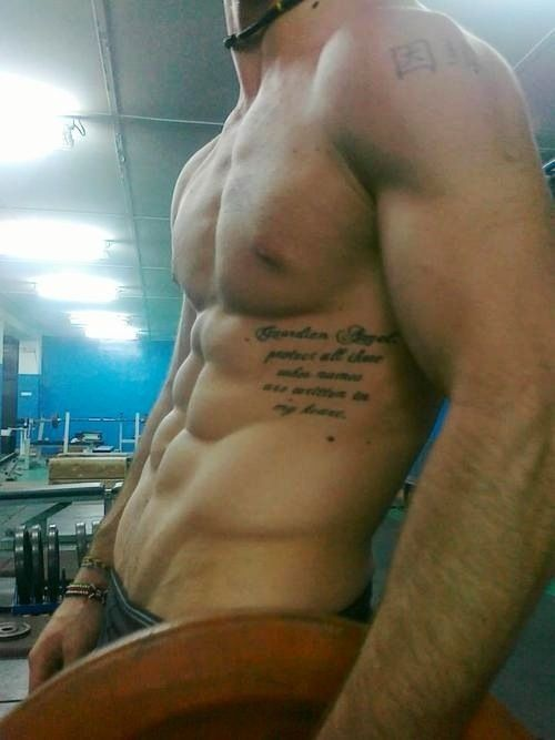tatouage homme cote : 15 exemples de tatouage cote - photos tatouage