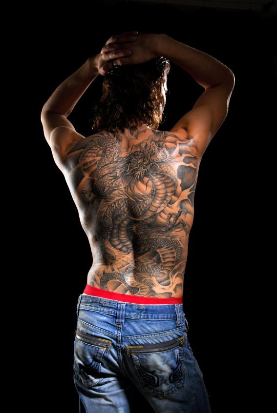 Tatouage Homme Dos Aile Printablehd