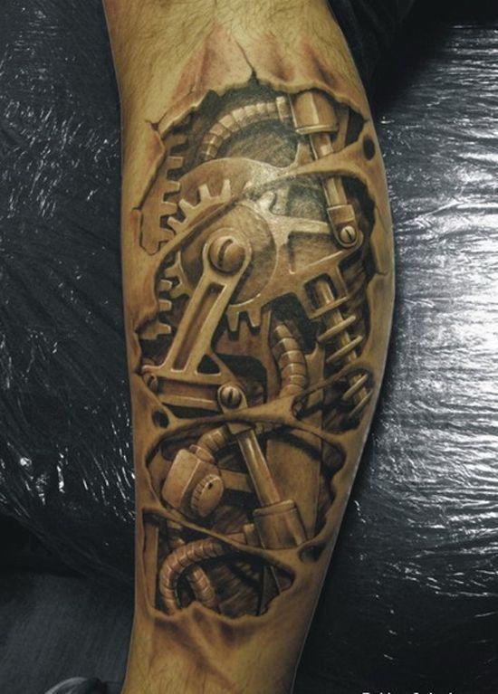 tatouage-homme-mollet-8