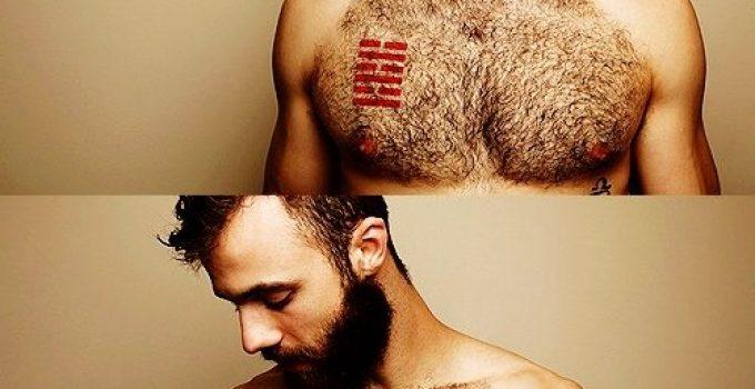Tatouage homme pectoraux 13