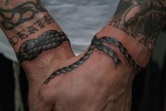 tatouage poignet homme 1
