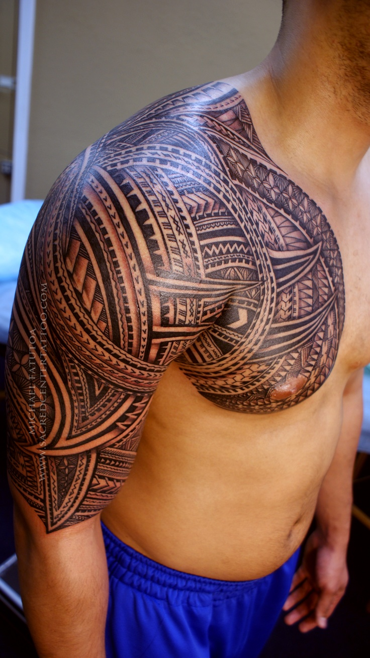 Tatouage polynesien torse fashion designs - Tattoo torse homme ...