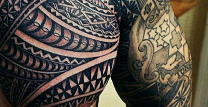 Tatouage maori homme 5