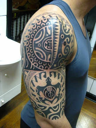 Tatouage Polynesien Homme 15 Exemples De Tatouage Homme Polynesien
