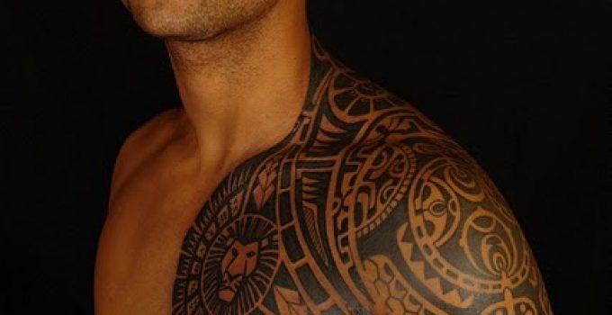 Tatouage polynesien homme 11