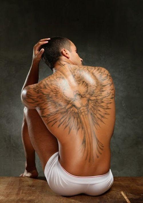 Favori tatouage homme ange: 15 modèles de tatouage ange homme - Photos  LN75