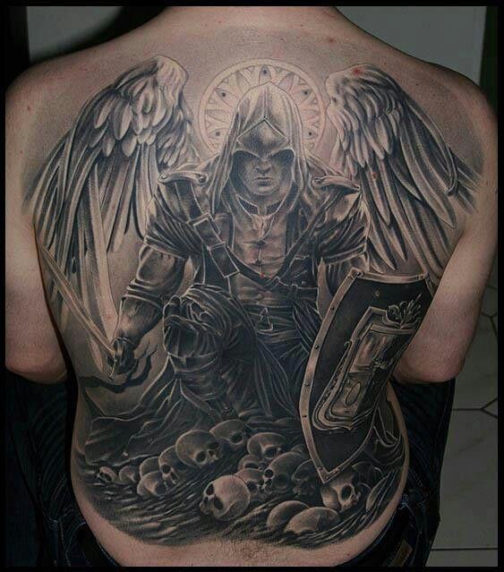 Tatouage Ailes Ange Dos Homme Tattooart Hd