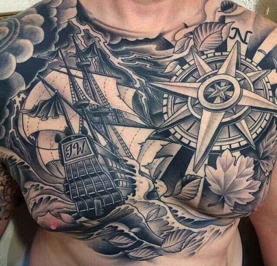 Tatouage Homme Etoile 20 Exemples Tendance De Tattoos Etoiles