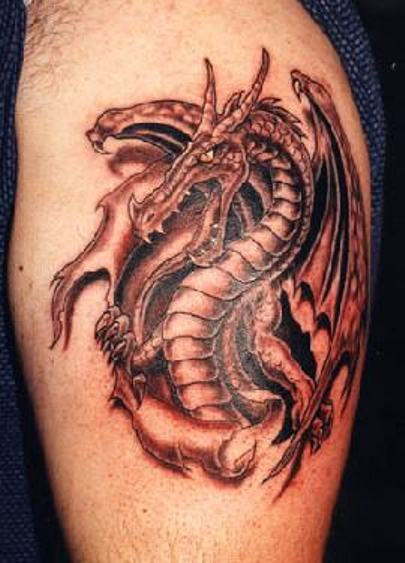 Tatouage Homme Dragon 18 Superbes Realisations De Tattoos Dragons